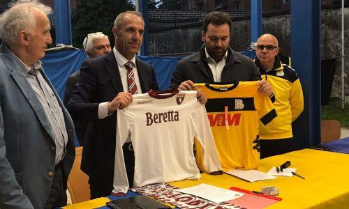 firmato il contratto ……siamo diventati Academy f.c. Torino calcio !!!